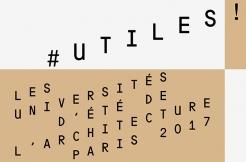 (CNOA) #UTILES ! - Universités d'été de l'architecture 2017